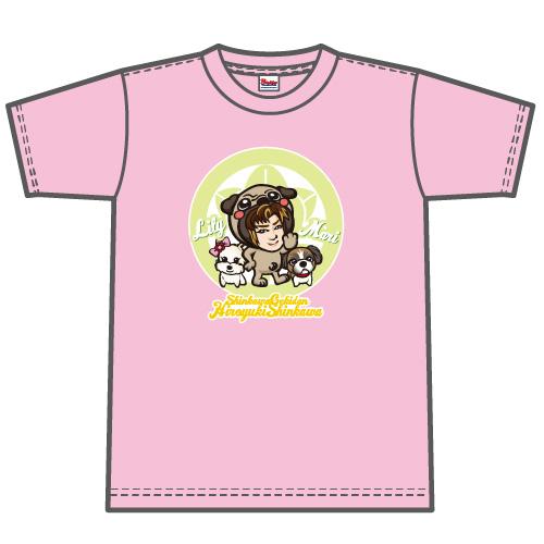 Tシャツ 新川劇団様のオリジナルグッズ