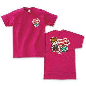 Tシャツプリント大サイズ+ワンポイント