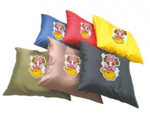 カラー座布団のプリント例